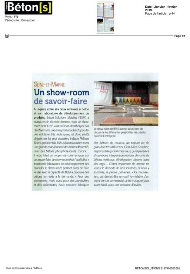 thumbnail of 2019-02-06-BETON(S) LE MAGAZINE-Janvier – fevrier 2019-10000000056047915